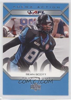 2006 Upper Deck Arena Football - Arena Action #AA22 - Sean Scott