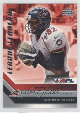 2006 Upper Deck Arena Football League Leaders #LL3 - Martin Nance