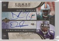 Derek Hagan, Demetrius Williams /20