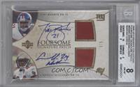 Tiki Barber, Laurence Maroney, Cadillac Williams, Maurice Jones-Drew /5 [BGS&nb…