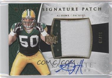 2006 Upper Deck Exquisite Collection Gold #109 - A.J. Hawk /99