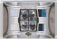 Steve Smith, DeAngelo Williams, Julius Peppers, DeShaun Foster /15