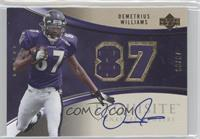 Demetrius Williams /87