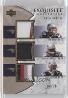Tom Brady, Laurence Maroney, Chad Jackson /20