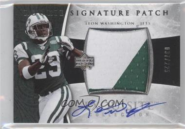 2006 Upper Deck Exquisite Collection #123 - Leon Washington /225