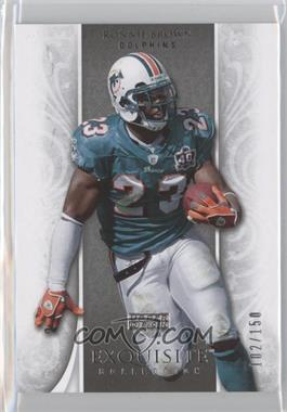2006 Upper Deck Exquisite Collection #33 - Ronnie Brown /150