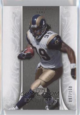 2006 Upper Deck Exquisite Collection #56 - Steven Jackson /150