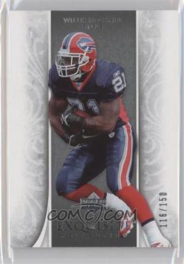 2006 Upper Deck Exquisite Collection #8 - Willis McGahee /150