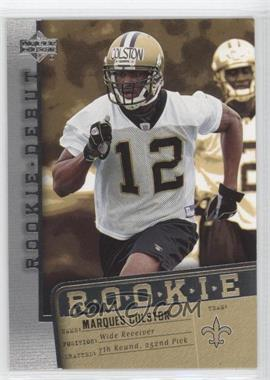 2006 Upper Deck Rookie Debut - [Base] #162 - Marques Colston