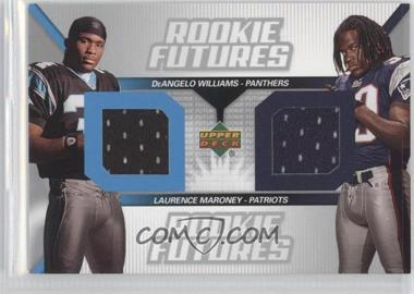 2006 Upper Deck Rookie Futures Dual #RF2-WM - Laurence Maroney