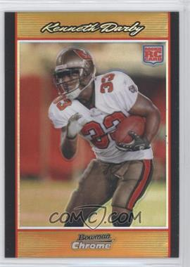 2007 Bowman Chrome - [Base] - Gold Refractor #BC100 - Kenneth Darby /50