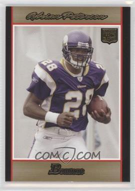 2007 Bowman Gold #126 - Adrian Peterson