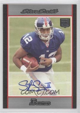 2007 Bowman Rookie Autographs #BAV-SS - Steve Smith /199