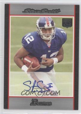 2007 Bowman Rookie Autographs #BAV-SS - Steve Smith /199