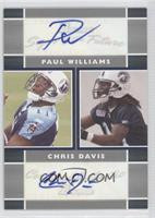 Paul Williams, Chris Davis /50