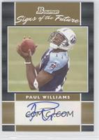 Paul Williams /50