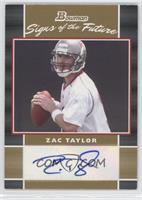 Zac Taylor /50