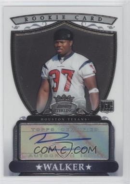 2007 Bowman Sterling - Rookie Autographs #BSRA-DWA - Darius Walker