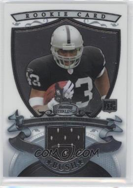 2007 Bowman Sterling Rookie Relics #BSRR-MB - Michael Bush