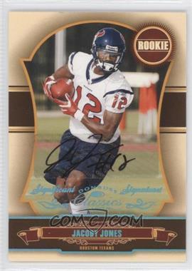 2007 Donruss Classics - [Base] - Significant Signatures Platinum [Autographed] #181 - Jacoby Jones /25
