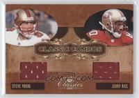 Steve Young, Jerry Rice /250