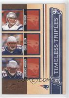 Tom Brady, Corey Dillon, Laurence Maroney /1000
