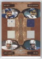 Dan Fouts, Kellen Winslow, Lance Alworth, Ron Mix /100