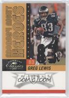 Greg Lewis /83