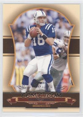 2007 Donruss Classics Wrong Name on Front #44 - Peyton Manning