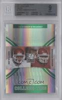 Adrian Peterson, roy williams /800 [BGS 9]