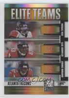 Michael Vick, Alge Crumpler, Jerious Norwood /200