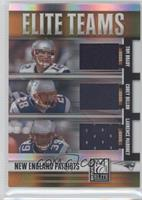Corey Dillon, Laurence Maroney, Tom Brady #47/99