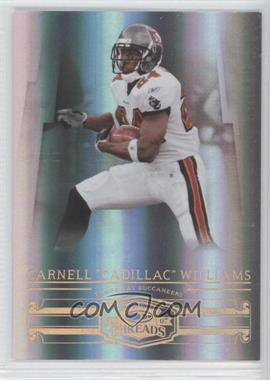 "2007 Donruss Threads - [Base] - Century Proof Bronze #124 - Carnell ""Cadillac"" Williams /250"