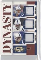 Peyton Manning, Marvin Harrison, Reggie Wayne /25