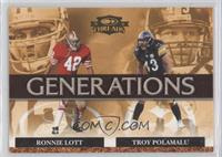 Troy Polamalu, Ronnie Lott