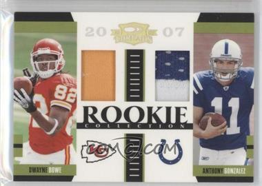 2007 Donruss Threads [???] #RCM-13 - Dwayne Bowe