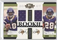 Sidney Rice, Adrian Peterson /500