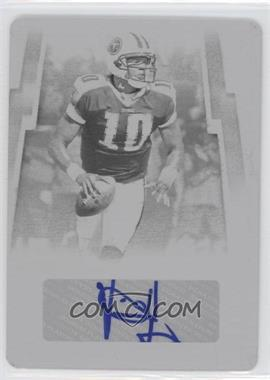 2007 Donruss Threads Printing Plate Black #143 - Vince Young /1