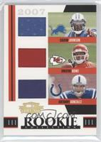 Anthony Gonzalez, Dwayne Bowe, Calvin Johnson /500