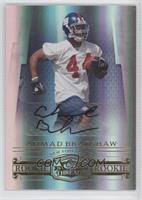 Autographed Rookies - Ahmad Bradshaw /999