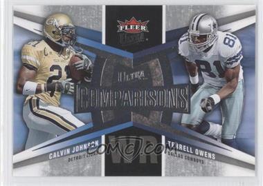2007 Fleer Ultra Comparisons #UC-JO - Calvin Johnson, Terrell Owens