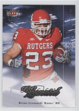2007 Fleer Ultra Gold #244 - Brian Leonard