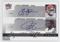 Larry Johnson, LaDainian Tomlinson /25