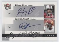 Dwayne Jarrett, Sidney Rice /25