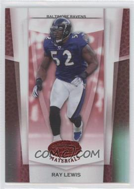 2007 Leaf Certified Materials Mirror Red #99 - Ray Lewis /100