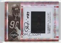 Gaines Adams (Error: Jason Hill Autograph) /30