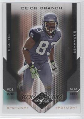 2007 Leaf Limited Spotlight Bronze #88 - Deion Branch /32