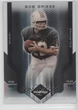 2007 Leaf Limited Spotlight Silver #106 - Bob Griese /20