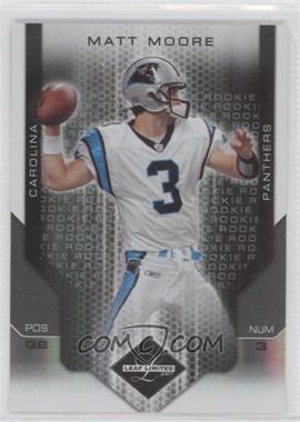 2007 Leaf Limited Spotlight Silver #233 - Matt Moore /20