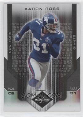 2007 Leaf Limited Spotlight Silver #257 - Aaron Ross /20